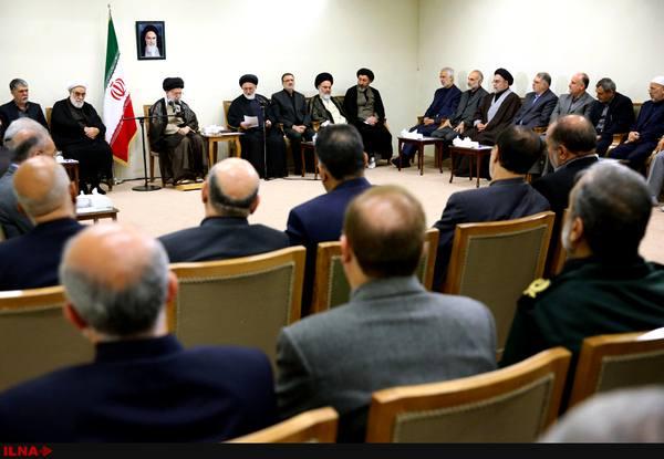 مسئولان و دستاندرکاران حج با رهبر انقلاب دیدار کردند