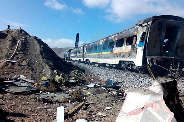 جریان ایثار میهماندار قطار حادثه محور سمنان چه بود؟ + عکس
