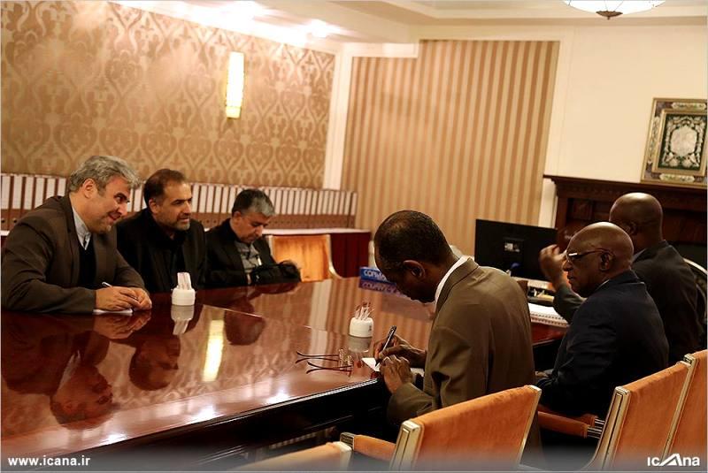 گزارش تصویری/دیدار کاظم جلالی با رئیس مجلس ملی جمهوری مالی