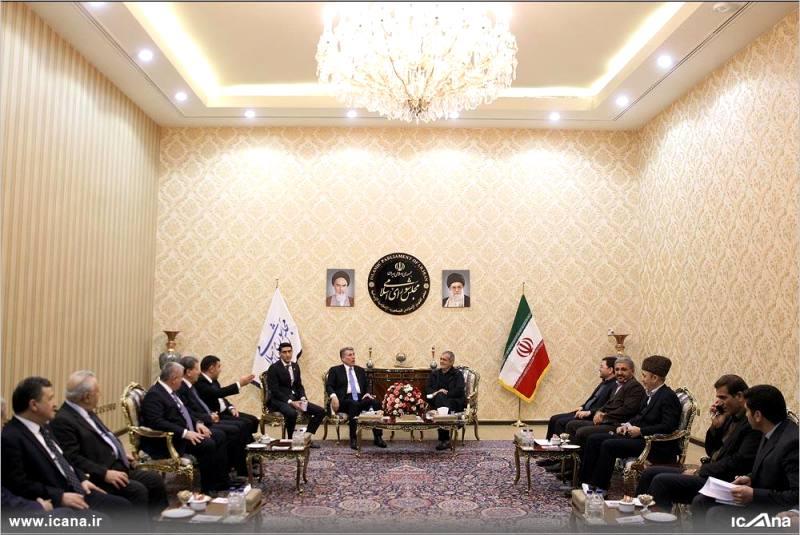 گزارش تصویری/ دیدار نایب رئیس مجلس آذربایجان با مسعود پزشکیان