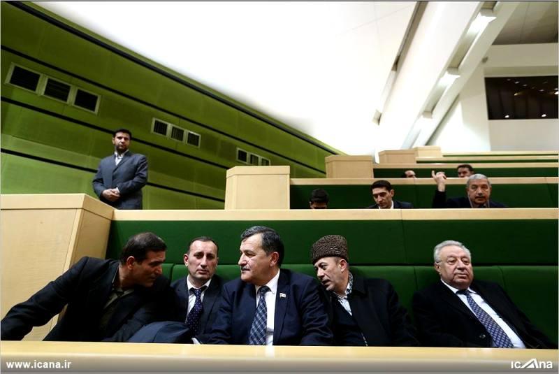 گزارش  تصویری/ حضور نایب رئیس مجلس جمهوری آذربایجان در صحن مجلس شورای اسلامی