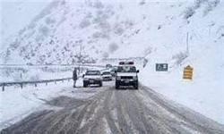 بارندگی در ۳ محور تهران-شمال/ رانندگان جادههای سردسیر زنجیرچرخ داشته باشند