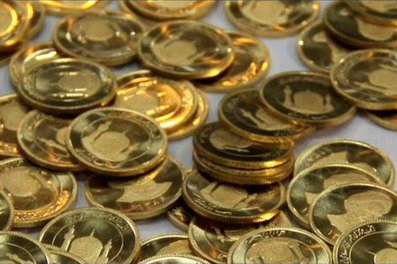 ریزش قیمت انواع مسکوکات طلا بجز سکه تمام