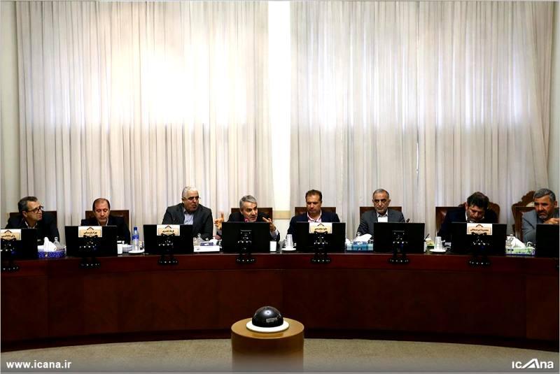 گزارش تصویری/  جلسه امروز فراکسیون مستقلین ولایی با حضور نوبخت