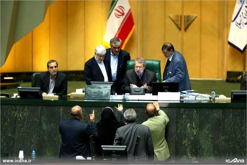 گزارش تصویری/ بیست و چهارمین جلسه بررسی جزئیات لایحه برنامه ششم در صحن علنی مجلس