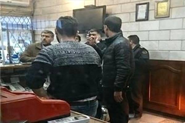 سرقت مسلحانه از یک صرافی در میدان فردوسی + عکس