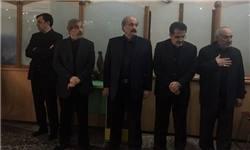 مراسم ختم پدر حمیدرضا آصفی برگزار شد