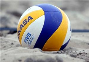 برترینهای والیبال ساحلی جهان در طوفان کیش