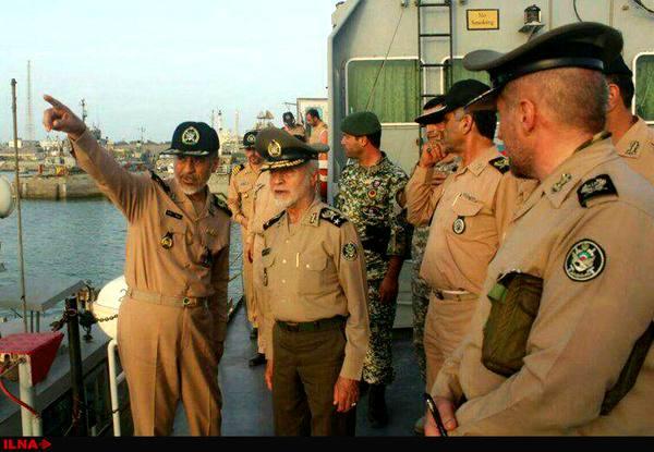فرمانده کل ارتش از گروه پدافند هوایی کنارک بازدید کرد