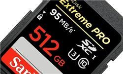 تولید کارت حافظه دوربین پرسرعت و سازگار با ویدئوهای فوق دقیق