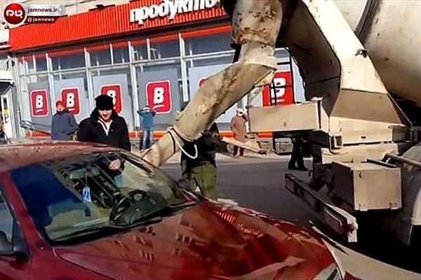 انتقام سخت مرد روس از همسر+عکس