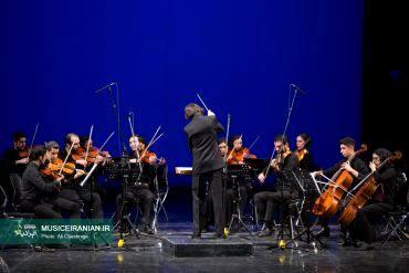گزارش تصویری «موسیقی ایرانیان» از اجرای ارکستر «نیلپر»ارکستر نیلپر (نوید گوهری) به عنوان نماینده فستیوال بینالمللی موسیقی معاصر تهران روی صحنه رفت