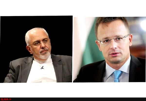 جزییات تماس تلفنی وزرای خارجه ایران و مجارستان