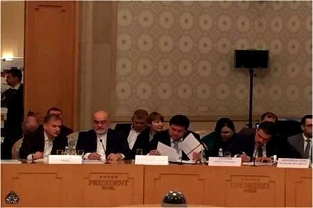 تأکید قاضی سراج بر توسعه همکاریها میان آمبودزمانهای کشورهای اوراسیایی
