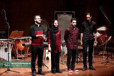 گزارش متنی و تصویری «موسیقی ایرانیان» از کنسرت «آنسامبل پرکاشن تهران»میلاد عمرانلو: ریتم در خون ما انسانها بالاخص ایرانیهاست