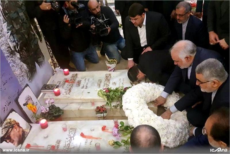 گزارش تصویری/ حضور هیأت پارلمانی مجلس شورای اسلامی در روضه الشهیدین بیروت