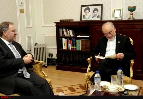 صالحی با مشاور عالی علمی وزارت خارجه انگلیس دیدار کرد