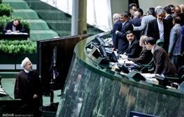 گعده نمایندگان دور صندلی ۱۸۴مجلس/مزاحهای لاریجانی و روحانی /درگوشیهای سیاسی درباره وزرای پیشنهادی