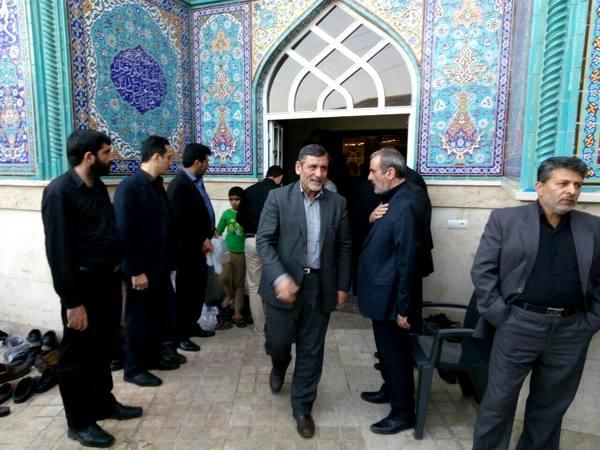 مراسم هفتم داود احمدینژاد برگزار شد + تصاویر