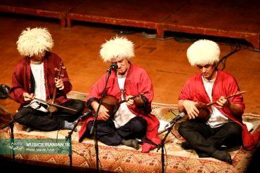 گزارش تصویری «موسیقی ایرانیان» از کنسرت گروه موسیقی «خنیاگران پنج اقلیم»نوای موسیقی اقوام ایرانی در جشنواره موسیقی فجر طنین انداز شد