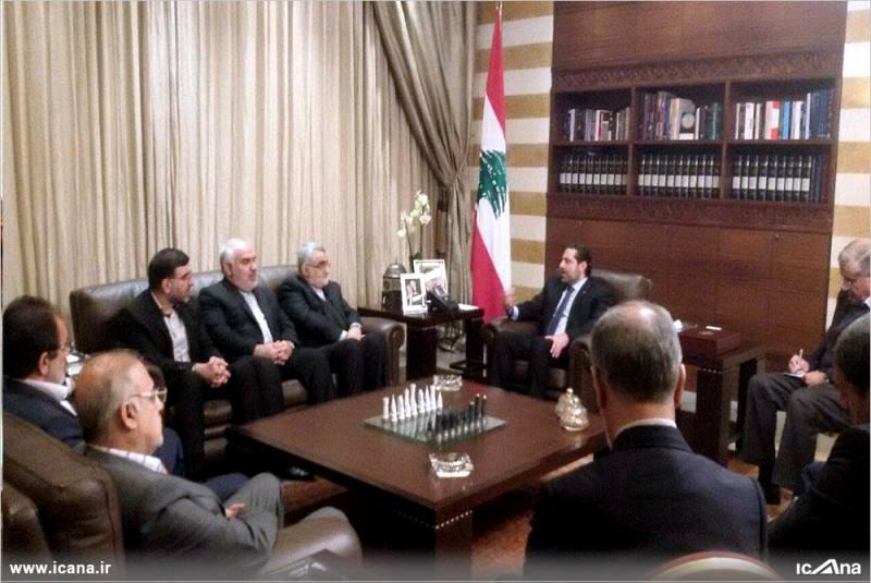 گزارش تصویری/ دیدار هیات پارلمانی مجلس شورای اسلامی با نخست وزیر لبنان