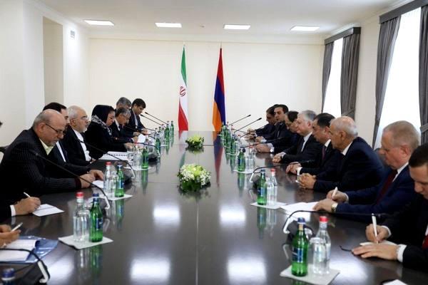 وزرای خارجه ایران و ارمنستان در ایروان دیدار و گفتوگو کردند