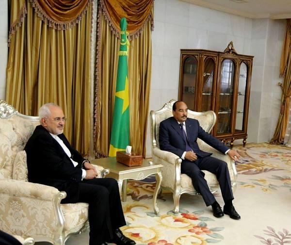 دیدار ظریف با رییسجمهور موریتانی