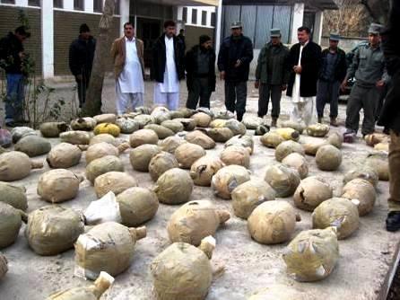 کشف دو و نیم تن مواد مخدر در شرق کشور توسط سربازان گمنام امام زمان