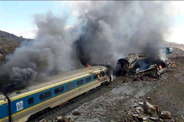 راه آهن و پیمانکار؛مقصر اصلی حادثه قطار سمنان