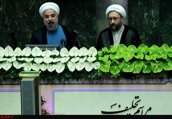 روحانی برای پاسداری از اسلام و قانون اساسی سوگند یاد کرد