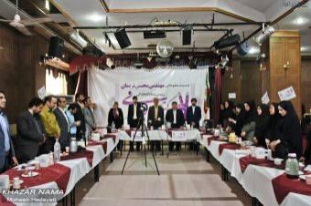 گزارش تصویری نشست مطبوعاتی مهندس نریمان رئیس ستاد دکتر روحانی در مازندران (2)