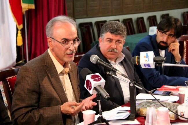 گزارش تصویری نشست خبری مهندس نریمان رئیس ستاد دکتر روحانی در مازندران