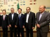 شرحی کوتاه بر همراهی یوسف نژاد با لاریجانی در دومین نشست روسای مجالس اورآسیا + تصاویر