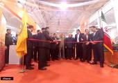 نمایشگاه خودرو مازندران افتتاح شد