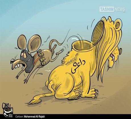 شیری که موش شد !!!