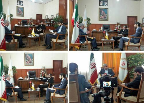 گفتوگوی گروه رسانهای موثق با محمدرضا حسینزاده رئیس هیئت مدیره و مدیرعامل بانک ملی ایران