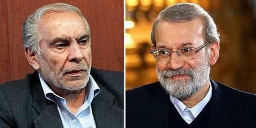 عیادت رییس مجلس و جمعی از نمایندگان از احمد ناطقنوری