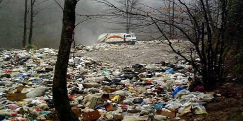 احتمال ریزش مرکز دفن زباله در آمل