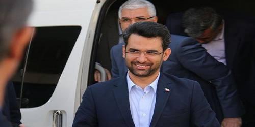 وزیر ارتباطات وارد مازندران شد
