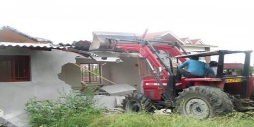 7500 بنای غیرمجاز در مازندران تخریب شد