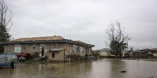 سیلاب ۵۰۰ واحد مسکونی مازندران را تخریب کرد