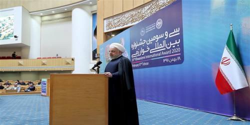 روحانی: دموکراسی، پارلمان و انتخابات را ما در منطقه پایهگذاری کردیم