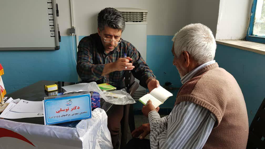 ارائه نذر سلامت، توسط خیریه همتعالی