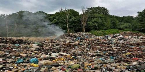 بوی تعفن زباله، رامسر را فلج کرد