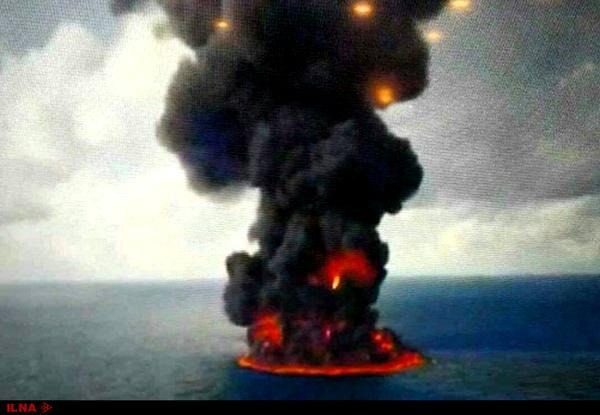 وجود گازهای سمی و ستون دود عظیم مانع عملیات امداد شد