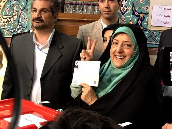 شرکت معصومه ابتکار در انتخابات ریاست جمهوری