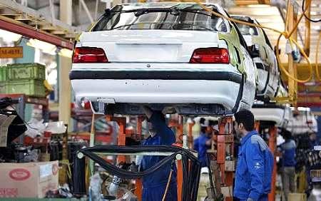 تولیدات ایران خودرو در هفت ماهه امسال 14درصد رشد کرد