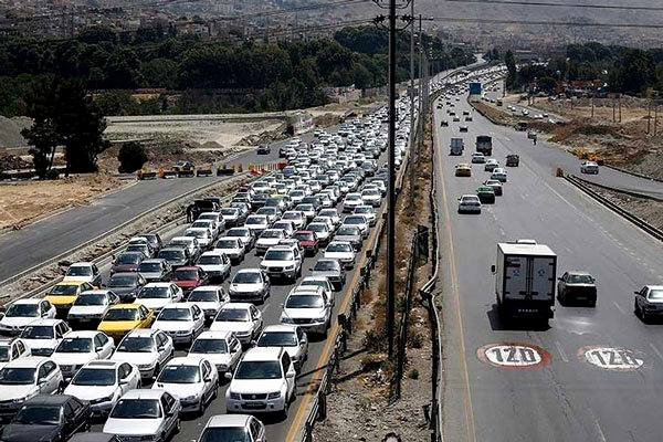 محدودیتهای ترافیکی نوروز/جزئیات وضعیت ترافیکی محورهای مواصلاتی