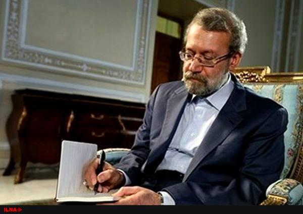 لاریجانی به روسای مجالس نمایندگان و سنای افغانستان تسلیت گفت