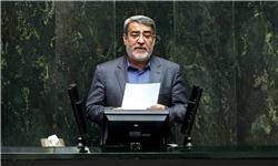 سوال از وزیرکشور درباره جواز تردد کامیونهای حامل نفت از عراق اعلام وصول شد